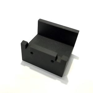 アルミ加工事例 A5052製 黒アルマイト部品