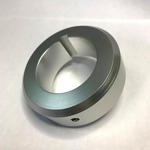 アルミ加工事例 メタルカラー(A5052)