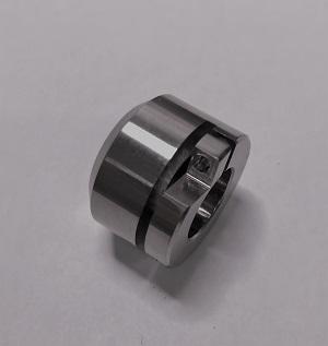 [ 金属加工部品 ]真鍮製メタルキャップ(無電解ニッケルメッキ処理)